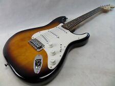 Squier Strat Fender Electric Guitar Stratocaster Affinity Sunburst Indoneasia