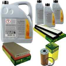 Inspection Set 8L Mercedes Oil 229.51 5W30 + Mann Filter 11104919