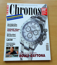 2406) relojes revista 2000 chopard patek philippe Laco Corum-chef Rolex Daytona