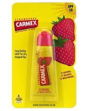 Carmex Strawberry Moisturising Lip Balm Spf15 Tube 10g