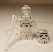 Invisible Stormtrooper Sniper Star Wars Minifigure +Stand for Lego Figure Clear