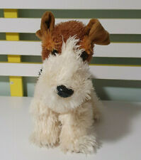 Teddy And Friends Dog Terrier Stuffed Animal 30Cm Long 25Cm Tall