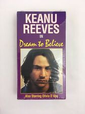 Dream To Believe Keanu Reeves RARE 1985 Quality Video Olivia D'Abo