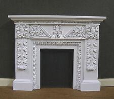 FIREPLACE ~ 1:12 scale ~ HANDCRAFTED ~JIM COATES ~ Dollhouse Miniature~ Room Box