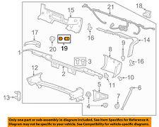 GM OEM Parking Aid Backup Back Up Reverse Proximity-Sensor 19115805