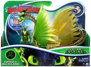 How To Train Your Dragon - Legends Evolved TUFFNUT & BARF & BELCH Figure Set NEW