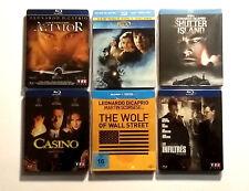 Lot Bluray Steelbook : 6 films de Martin SCORSESE