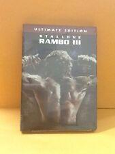 Rambo III (DVD, 2004, Ultimate Edition)