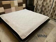Waterproof Dustproof Cotton Fitted Mattress Protector Cover 72x72 inches White