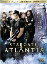 STARGATE ATLANTIS - THE COMPLETE THIRD (3RD) SEASON (BOXSET) (MGM) (DVD)