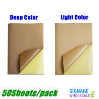 "50 Matte 8.5""x11"" Blank Printable Sticker Paper Shipping Labels - Inkjet Printer"