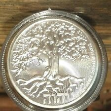 "2019 Niue Tree Of Life MICRO INSCRIBED ""I am the way the truth and the life"""