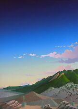"Doug West, ""Boulder Nightfall"", Ltd ed serigraph, 1988, 30""h x 22""w image"