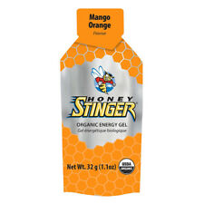 Honey Stinger Organic Energy Gel Box of 24 Org Mango Orange 1.3oz Bxof24