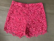 Lace Tap Shorts Hollister coral  size 3
