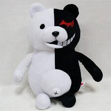 "Dangan Ronpa 2 Danganronpa Mono Kuma Black & White Bear 10"" Plush Soft Doll Toys"