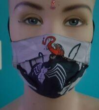 VENOM kids Marvel  Handmade Facemask double layer cotton unisex