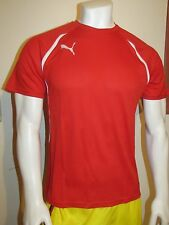 Puma Vencida Shirt Red Men's Jersey Size S
