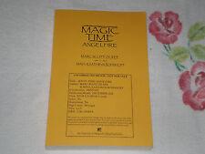 MAGIC TIME: ANGELFIRE by MARC SCOTT ZICREE & MAYA KAATHRYN BOHNHOFF *SIGNED* ARC