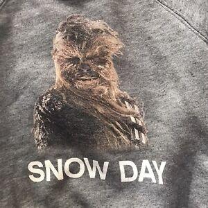 Baby Gap Star Wars Crewneck Sweatshirt 18-24 months Chewbacca Snow Gray Graphic