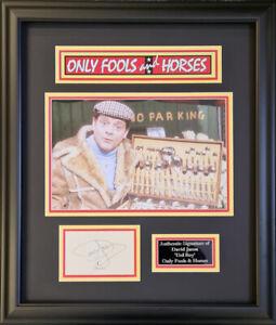 "DAVID JASON Signed "" Only Fools and Horses "" Presentation AFTAL OnlineCOA"