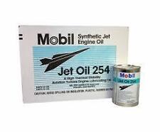 MOBIL 254 TURBINE ENGINE OIL CARTON 24 QUARTS
