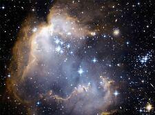 Telescopio Espacial Hubble Infantil estrellas en la cercana galaxia cartel impresión 379pya