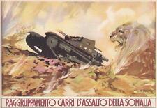 C815) WW ETIOPIA, RAGGRUPPAMENTO CARRI D'ASSALTO DELLA SOMALIA.