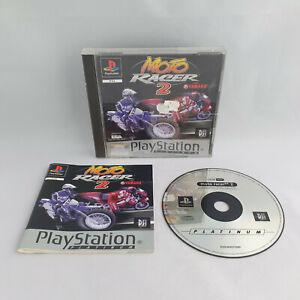 Playstation 1 PS1 - Moto Racer 2 with Yamaha Platinum