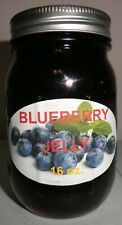 Fresh BLUEBERRY JELLY Pint (16 oz.), I Also Have Smaller Sizes