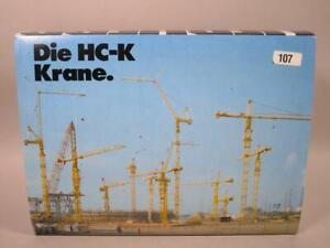 Liebherr HC-K Kran 1:87 + OVP noch ungebaut  1M5631