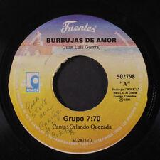 GRUPO 7:70 / LOS BUNKER'S: Burbujas De Amor / Como Abeja Al Panal 45 (Colombia,