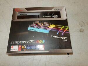 G.SKILL Trident Z RGB 128GB (4 x 32GB), DDR4, 1.35V RAM (NEW) #R037