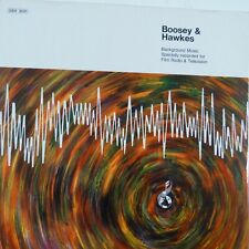 vinyl lp record BOOSEY & HAWKES Background Music Film, Radio, TV,  SBH 3031