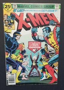 X-MEN #100 • OLD VS NEW X-MEN, START OF PHOENIX SAGA • FINE- OR BETTER