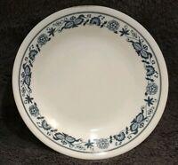 "SET OF 4 EUC Corelle GLASS OLD TOWN Blue Onion  6-3/4"" Bread Dessert Plates"