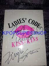 Ladies Code Kiss Kiss Single Autographed Signed Promo CD RARE OOP Eun B Rise