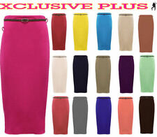 Polyester Straight, Pencil Long Skirts for Women