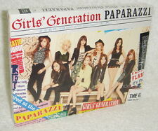 Girls' Generation PAPARAZZI Taiwan CD+DVD (SNSD Digipak) w/MV~Close up edit~