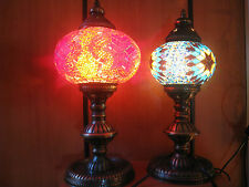 AUTHENTIC HANDMADE MOROCCAN TURKISH MOSAIC LAMP HOME DECORATIVE OTTOMAN STYLE