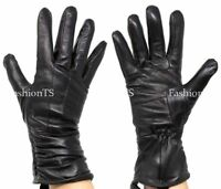 NEW Women's Thinsulate Winter Gloves Genuine Leather Sheep Sain Thermal Insulate