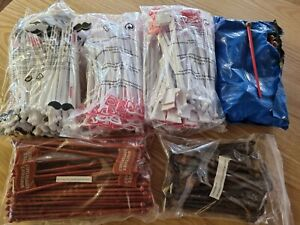 500 x Assorted Branded Cocktail Stirrers New
