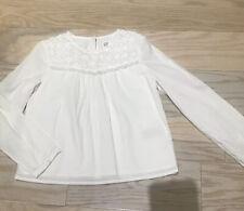 Gap Kids Girls 100% Cotton Top, Size 6-7, White, Worn Once.