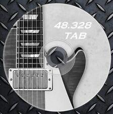 48.328 Tabulaturas Partituras Guitarra Electrica,Acustica,Bajo.TAB. Colección