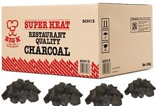 Grado de restaurante bigk lumpwood carbón vegetal sobrecalentamiento (SCH15) De Madera Dura Barbacoa Carbón
