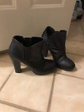 Madden Girl Black Ankle Boot 8.5M