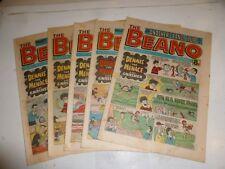THE BEANO Comic - 5 Comic Job Lot - No 2010 to 2014 - Date 24/01/81 - 21/02/81