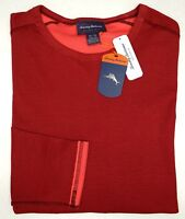 Tommy Bahama Red Long Sleeve Reversible T Shirt Mens Size XL NEW
