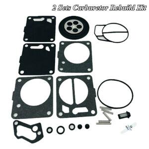 Aftermarket Dual Carb Carburetor Rebuild Repair Kit For Seadoo GT GTS GTX SP SPX