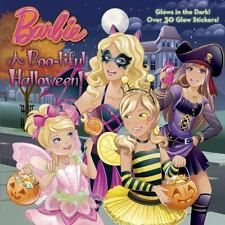 A Boo-Tiful Halloween! (barbie) (glow-In-The-Dark Pictureback): By Mary Man-Kong